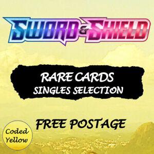 Sword & Shield Base Set RARE Cards Pokémon New/Mint Choose Your Card - Discounts