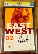 East of West 2, CGC 9.8 SS, signed by Dragotta, graded NM/MT, 1st print
