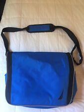 MEN'S NAUTICA BLUE/BLACK MESSENGER/LAPTOP BUSINESS BAG - GREAT CONDITION!