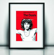 The Doors Last Concert Poster Print Jim Morrison Olivia Valentine© NEW Exclusive