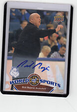 "2010 UD World Of Sport #357 Rick Majerus "" Died Dec 1,2012 / Utah Utes "" Auto"