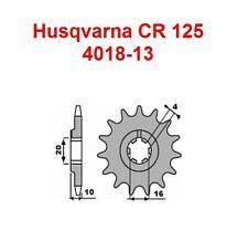 Piñón 13 dientes HUSQVARNA CR 125 ,CR125,WR,95-97,de la cadena,711-13,NUEVO
