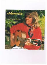 MANUELA   Und der Wind / C'est La Vie (deutsch) - NEU von 1984