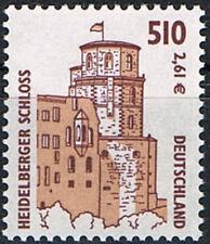Mi.Nr.2225 **, BRD 2001, SWK. Heidelberger Schloss