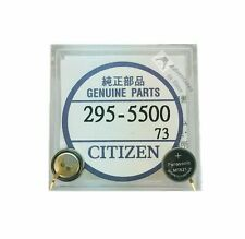 CITIZEN  295-5500 295-55 ECO-DRIVE CAPACITOR SOLAR BATTERY