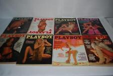 Vintage Playboy Magazines 1978 Lot 8 Complete Inserts Centerfolds