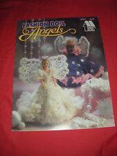 FASHION DOLL ANGELS CROCHET PATTERNS ANNIE'S ATTIC BOOKLET #87D74 1993