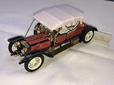 Franklin Mint 1910 Rolls Royce Silver Ghost 1:24 Die Cast Precision Model
