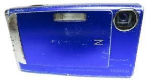 Fujifilm FinePix Z Series Z10fd 7.2MP Digital Camera - Blue - Tested & Working