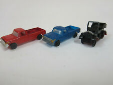 Bachmann trucks (1980s) and early roadster(1920s) 3 HO vehicals