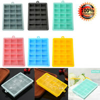 24 Grids Silicone Ice Cube Tray Molds DIY Desert Juice Maker Tools Square Mould