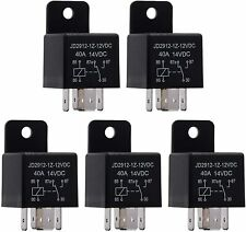 5 X 12v Automotive Changeover Relay 40a 5-pin Car Bike Van