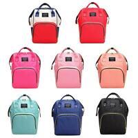 Dot Print Big Backpacks Mommy Maternity Bags Travel Baby Care Diaper Bags NI5L