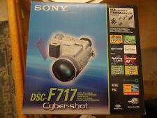 Sony DSC-F717 Digital Camera w/ Original Box and All Access.