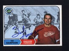1968 Topps #85 Ted Hampson Signed Auto Autographed Card Seals JC LOA *528646