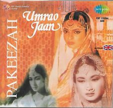 PAKEEZAH / UMRAO JAAN - 2 IN ONE BOLLYWOOD FILM SONGS CD - FREE UK POST