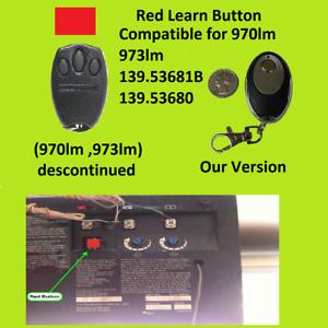 Craftsman 139.53681B Garage Door Opener Key Chain Remote Control 139.53680