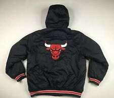 Vintage Chicago Bulls Champion Insulated Fall / Winter Jacket Size XL