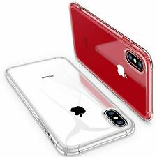lot of 10 For iPhone X 10 CLEAR TPU Bumper Soft Gel slim fit thin Case Cover