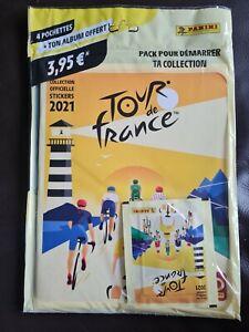 Panini Tour de France 2021 Sticker Album plus 4 Packs of Stickers...NEW & SEALED