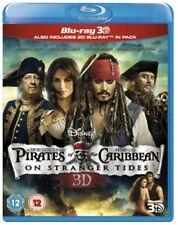 Pirates of the Caribbean: On Stranger Tides (Blu-ray 3D + Blu-ray) [Region Free]