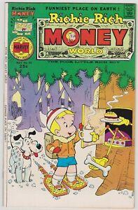 Richie Rich Money World #23 - Harvey File Copy Comic! 1976 VF+