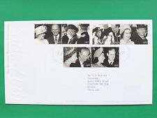 2007 Elizabeth II Diamond Wedding Mail First Day Cover Tallents House SNo44874