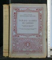 TERZO LIBRO DI LATINO. Zanoni. Mondadori.
