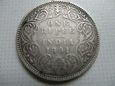 ONE RUPPEE India 1891