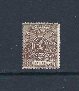 BELGIUM Classic 1866-67 5c Coat of Arms Mint - Perf. 14.5 x 14 (Jul 127)