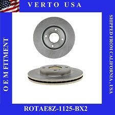 Front Brake Rotors For Ford Fiesta 2011-2012-2013