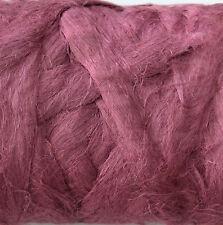 100 % Leinen Kammzug Zwiebel, Leinen für filzen und spinnen 100 g farbig