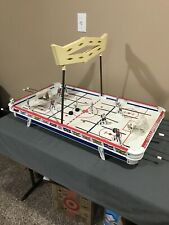 Vintage 1960's Munro Table Top Hockey Game. Chicago Vs Montreal Figures.
