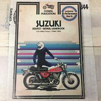 Clymer Suzuki Service Repair Handbook Suzuki 125 to 500 Twins 1964 to 1975