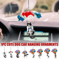 Cat Dog Car Hanging Ornament Rear View Mirror Styling Interior Car Decoration