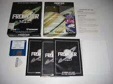 """FRONTIER ELITE II PC IBM 3.5"""" Floppy Disk Original BIG BOX by David Braben"""