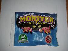 Monster In My Pocket TENGU # 9 Orange Nuovo New Italian Packet Bustina 1990