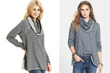 NWT Free People Cowl Neck Sweater M L Medium Large