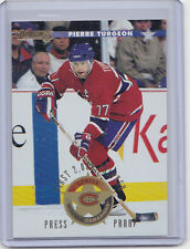 MINT!! 1996-97 DONRUSS PRESS PROOFS FIRST 2,000 NO. 17 PIERRE TURGEON CANADIENS