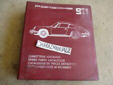 PORSCHE 911 Parts Manual OEM
