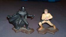 90's Star Wars Action Masters 2 Die Cast Figures  Luke Skywalker & Darth Vader