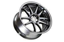 19x9.5/11 Aodhan DS02 5x114.3 +15 Black Vacuum Rims Fits 240Sx S13 S14 Silvia
