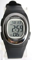 Casio FE-10-1A Mens Black Multifunction Watch Sport Backlight Afterglow New