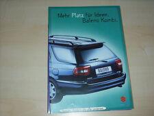 44414) Suzuki Baleno Kombi Prospekt 11/1996