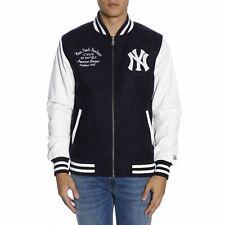 Veste New Era Blouson D'Aviateur York Yankees Style College 033495467 Bleu Orig