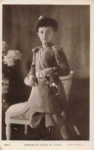 CZAREWITH ALEXIS OF RUSSIA SON OF CZAR NICHOLAS 11 RP PUBLISHER ROTARY 1914