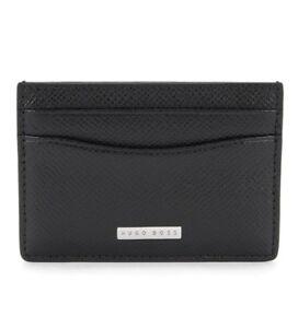 Hugo Boss Mainline Signature Card Holder One Size Black