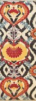 Vegetable Dye Super Kazak Geometric Oriental Runner Rug Handmade Wool 3x8 Carpet