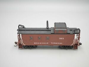 Private Road Name - HO Scale - Brass 'Wooden Cupola' Caboose
