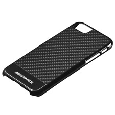 MERCEDES BENZ AMG Original Funda de smartphone iphone 6s&7 Carbono Negro NUEVO
